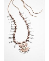 Free People | Metallic Womens Deco Drop Pendant | Lyst