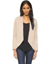 Blaque Label | Natural Sculpted Blazer | Lyst