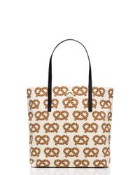 kate spade new york | Multicolor Far From The Tree Bon Shopper | Lyst