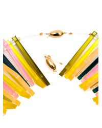Sarah Angold Studio | Yellow 'luma' Necklace | Lyst