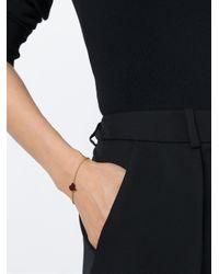 Vivienne Westwood | Metallic Enamel Heart Charm Bracelet | Lyst