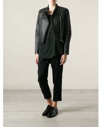 Alexander Wang - Black Biker Jacket - Lyst