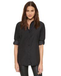 IRO - Black Desira Shirt - Lyst