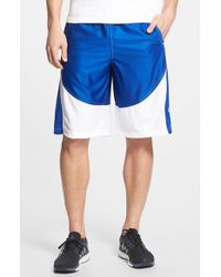 Under Armour | Blue 'mo Money' Knit Basketball Shorts for Men | Lyst
