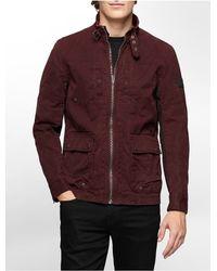 Calvin Klein | Purple Jeans Slim Fit Off Road Jacket | Lyst