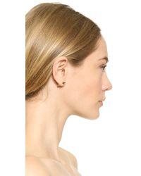 Rebecca Minkoff - Metallic Arrow Earrings - Lyst