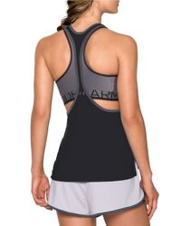 Under Armour | Black Women's Heatgear Armour Loose Tank | Lyst