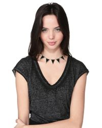 House of Harlow 1960 - Black Necklace / Longcollar - Lyst