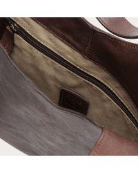 Frye | Brown Farrah Fringe Leather Hobo Bag | Lyst