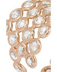 Lito - Metallic 18K Rose Gold Protection Ring - Lyst