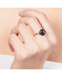 Astley Clarke - Black Pillow Ring - Lyst