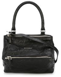 Givenchy | Black Small Pandora Handbag | Lyst