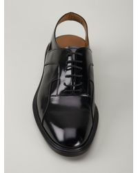 Givenchy | Black Hybrid Derby Sandals for Men | Lyst