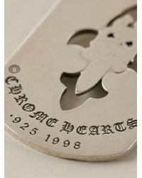 Chrome Hearts | Metallic Logo Pendant | Lyst