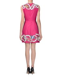 Boutique Moschino - Pink Short Dress - Lyst