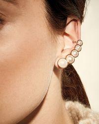 Lulu Frost | White Simulated-pearl Ear Crawlers | Lyst