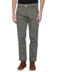 Frankie Morello - Green Casual Trouser for Men - Lyst