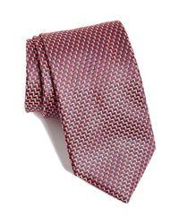 BOSS Textured Geo Tie for men