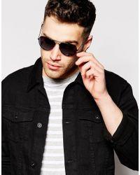 D-Struct - Black Aviator Sunglasses for Men - Lyst