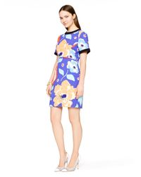 kate spade new york - Blue Jaq Dress - Lyst