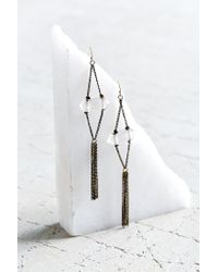 Urban Outfitters | Metallic Constance Crystal Drop Earring | Lyst