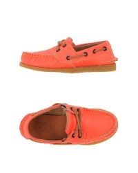 Golden Goose Deluxe Brand - Red Moccasins for Men - Lyst