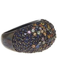 M.c.l | Black Pave Bubblegum Ring | Lyst