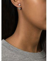 Vita Fede - Black 'Cubo' Pearl Earring - Lyst