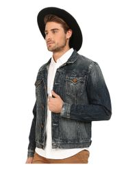 True Religion - Blue Dylan Jacket for Men - Lyst