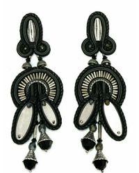 Dori Csengeri | Black Flower Of Evil Earrings | Lyst