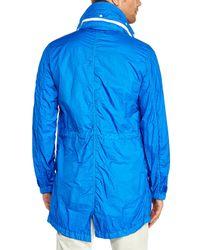 Stone Island | Blue Windbreaker Jacket for Men | Lyst