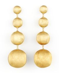 Marco Bicego | Metallic Africa Yellow Gold Four-drop Earrings | Lyst