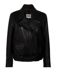 Acne | Black Mapplethorpe Biker Jacket | Lyst