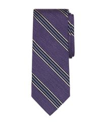 Brooks Brothers | Purple Heathered Bb#1 Stripe Tie for Men | Lyst