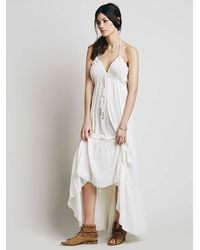 Free People - White Baby Baby Dress - Lyst