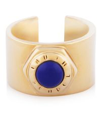Henri Bendel | Blue Bolt Cuff Ring | Lyst