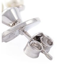 Ca&Lou | White Pixie Earrings | Lyst