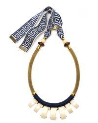 Lizzie Fortunato - Metallic Casa Azul Necklace - Lyst