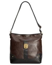 Style & Co. - Brown Style&co. Twistlock Crossbody - Lyst