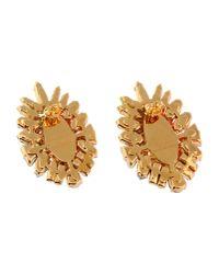 Shourouk | Orange 'horus Bo' Clip-on Earrings | Lyst