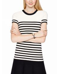 kate spade new york | Black Stripe Rumsey Watch | Lyst