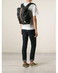 Herschel Supply Co. - Black 'Post' Backpack for Men - Lyst