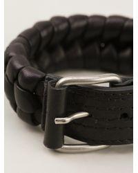 Damir Doma - Black Woven Bracelet for Men - Lyst
