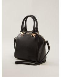 15ec8d5d2c3d Emporio Armani Structured Tote Bag in Black - Lyst