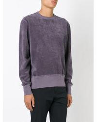Our Legacy - Purple Towelling Sweatshirt for Men - Lyst