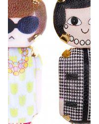 Bijoux De Famille | Multicolor Disco Funky Dollar Earrings | Lyst