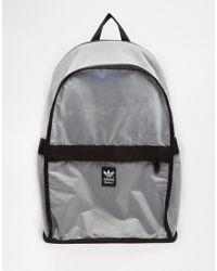 0790bad7900e Lyst - adidas Originals Backpack in Metallic