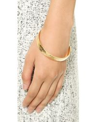 kate spade new york - Metallic This Is The Year To Bangle Bracelet - Gold - Lyst
