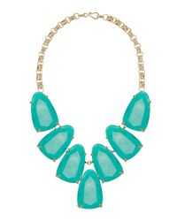 Kendra Scott - Blue Harlow Necklace - Lyst