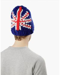Wool And The Gang | Blue Let It Beanie for Men | Lyst